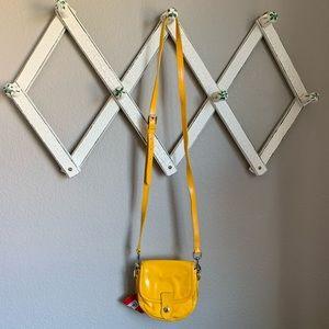 Dooney & Bourke NWT Small Yellow Crossbody Bag